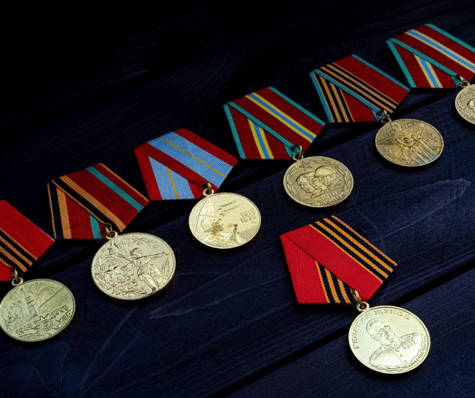 médailles et rubans