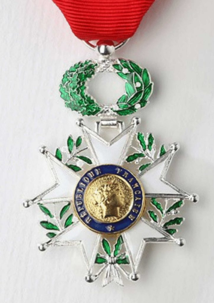 médaille officielle